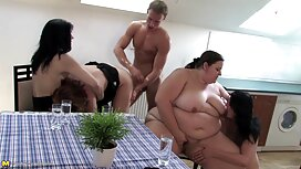 MILF s velikim grudima dolazi na porno vintage kasting i analizira se na partnerov kurac